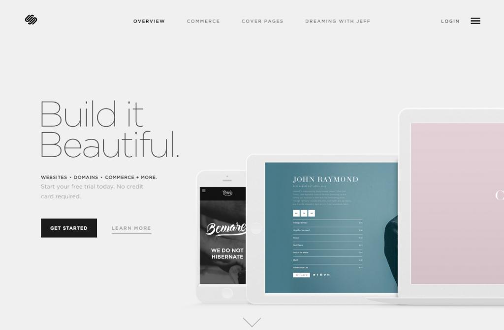 Build a Website — Squarespace