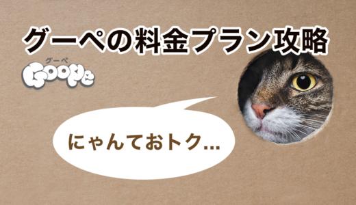 グーペの料金プランを攻略して6000円お得に使う方法